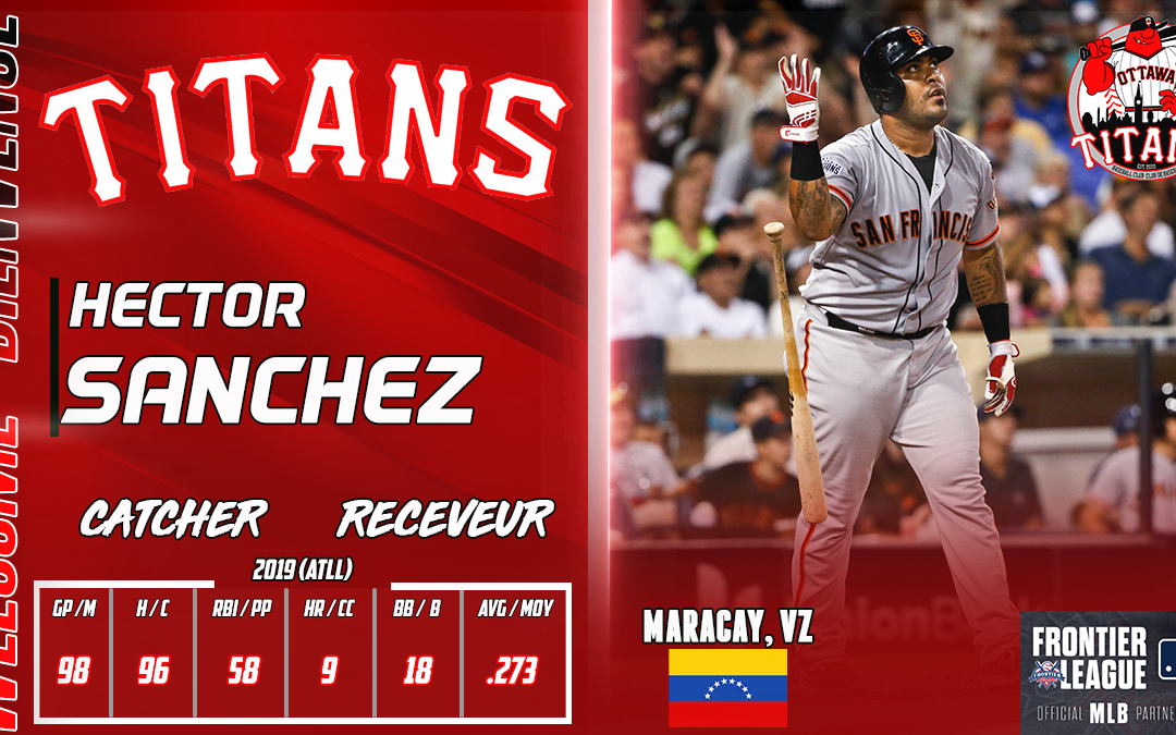 Former World Series Champion Héctor Sánchez Signs With Titans for 2021